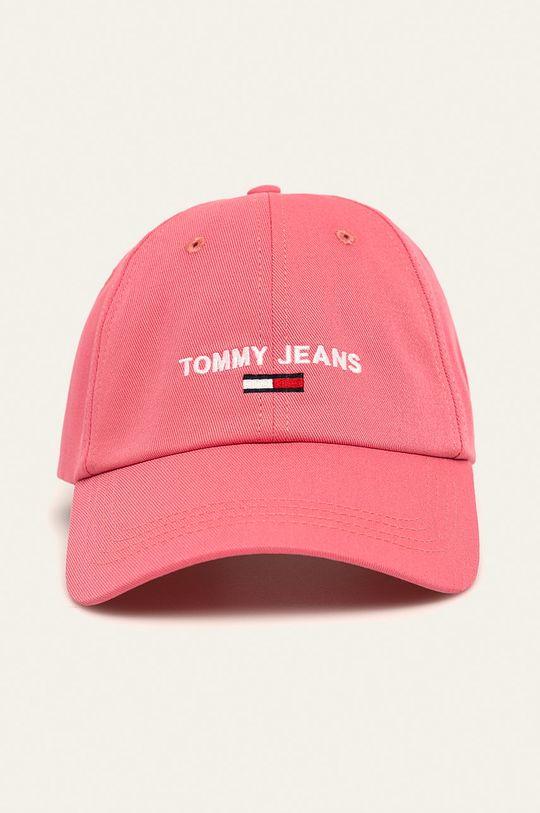 Tommy Jeans - Čepice  100% Bavlna