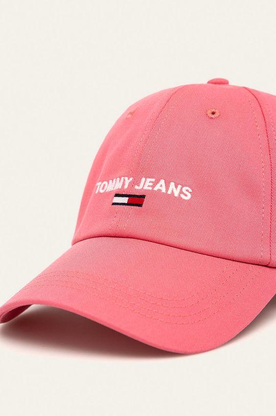 růžová Tommy Jeans - Čepice