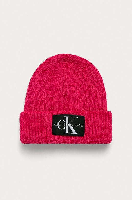 ostrá růžová Calvin Klein Jeans - Čepice Dámský