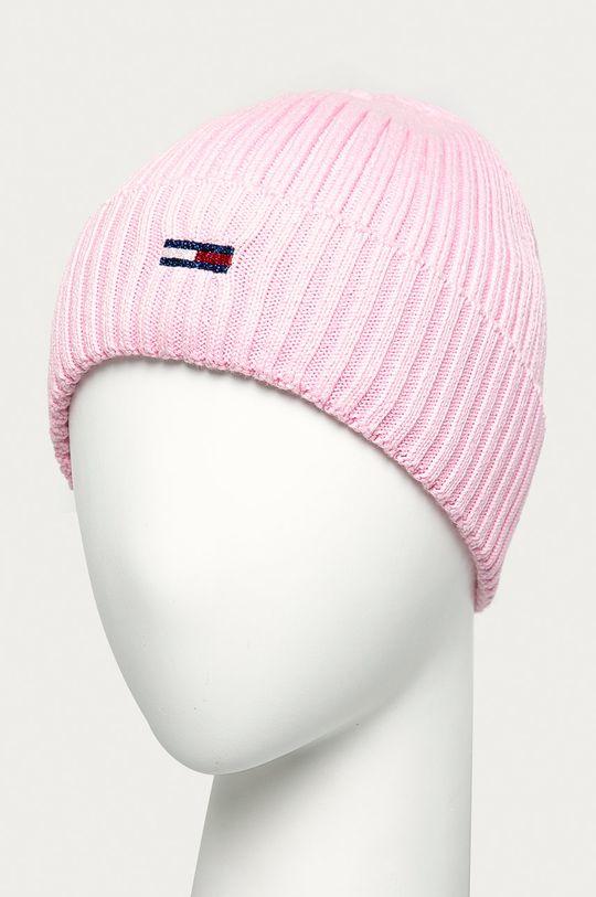Tommy Jeans - Caciula roz pastelat