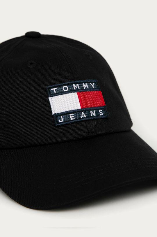Tommy Jeans - Czapka czarny