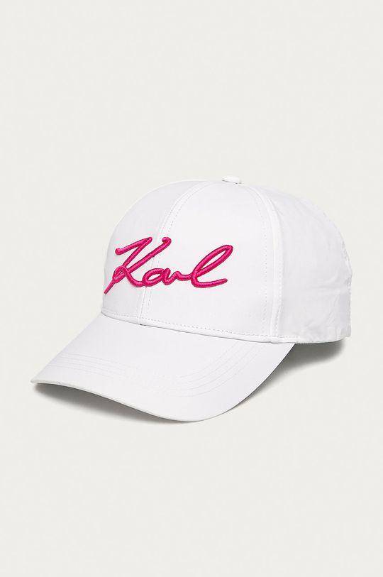 biela Karl Lagerfeld - Čiapka Dámsky