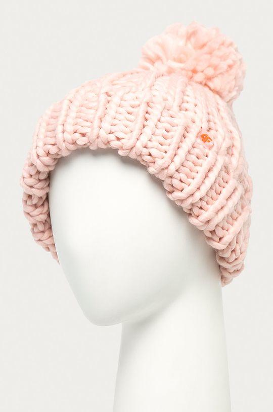 4F - Čepice pastelově růžová