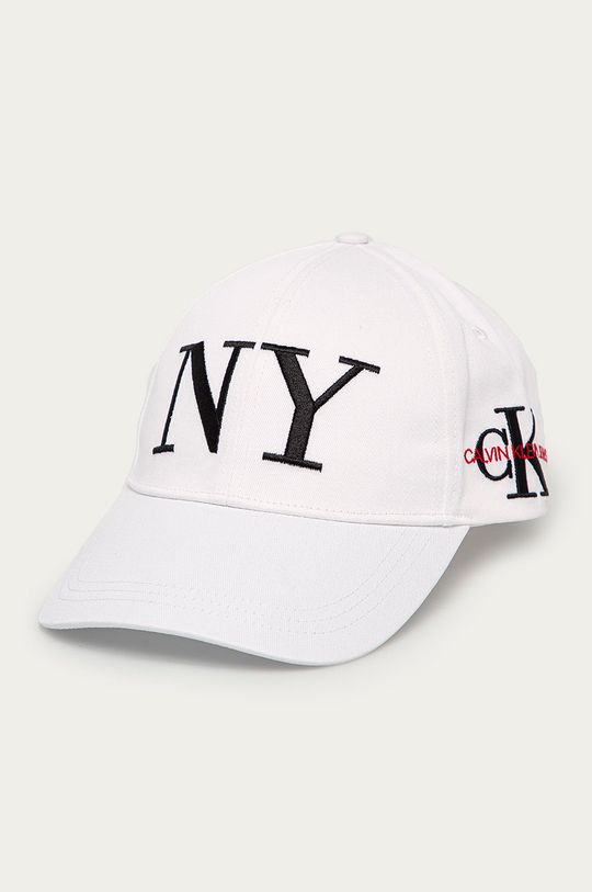 biały Calvin Klein Jeans - Czapka Damski