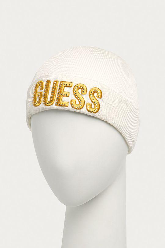 Guess Jeans - Czapka dziecięca biały