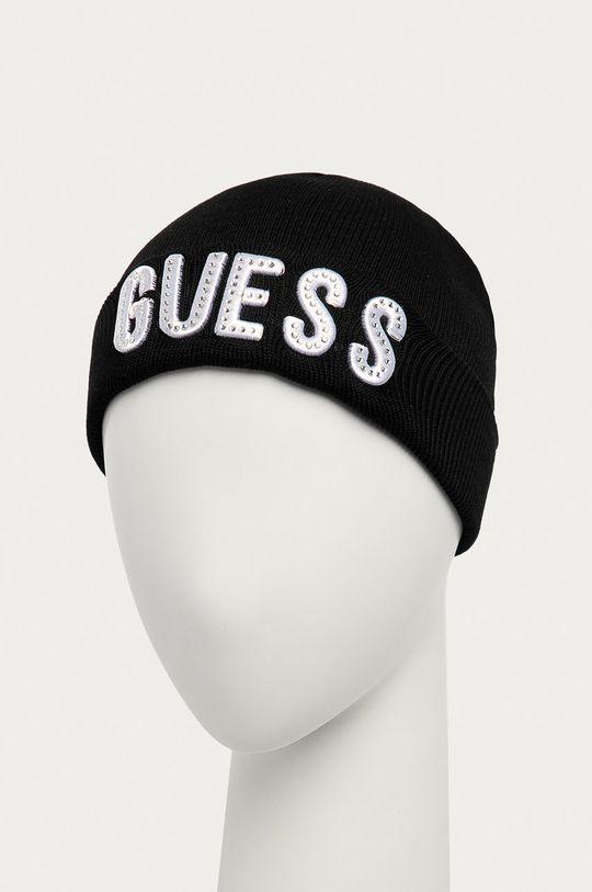 Guess Jeans - Czapka dziecięca czarny