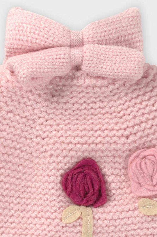 Mayoral - Čiapka, šál a rukavice ružová