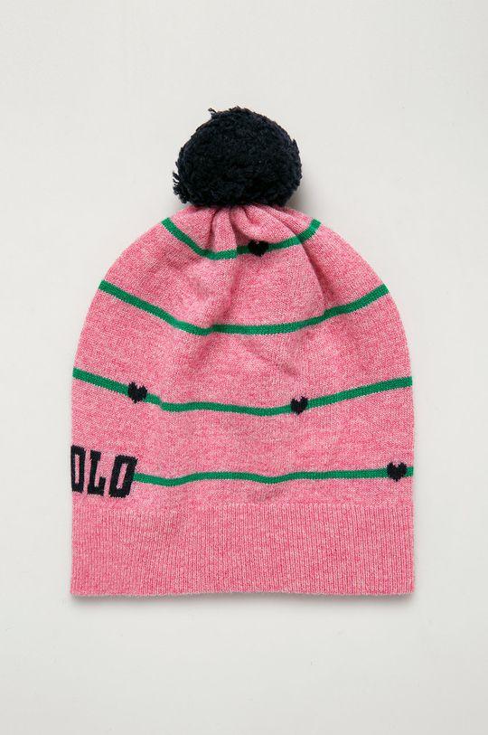ružová Polo Ralph Lauren - Čiapka Dievčenský