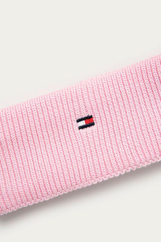 Tommy Hilfiger - Dětská čelenka růžová