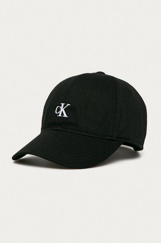 czarny Calvin Klein Jeans - Czapka Dziecięcy
