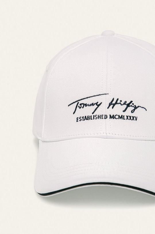 Tommy Hilfiger - Čiapka biela