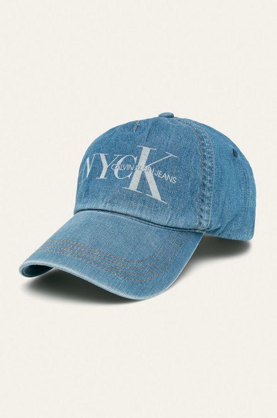 modrá Calvin Klein Jeans - Čepice Pánský
