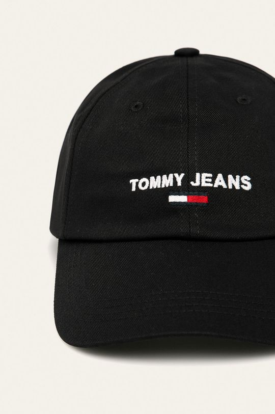 Tommy Jeans - Čepice černá