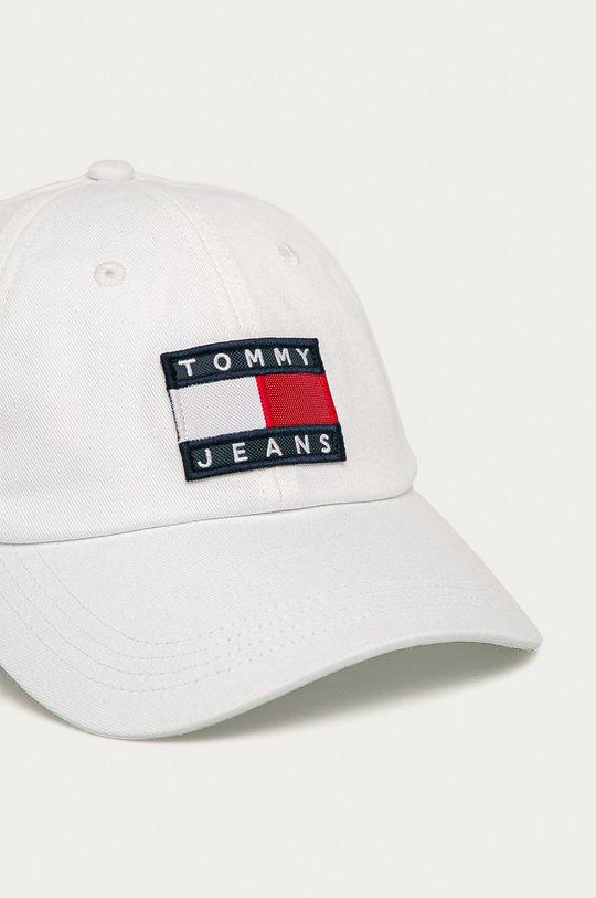 Tommy Jeans - Caciula alb