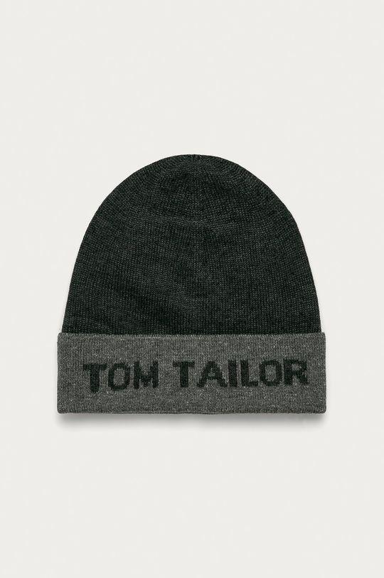 sivá Tom Tailor Denim - Čiapka Pánsky