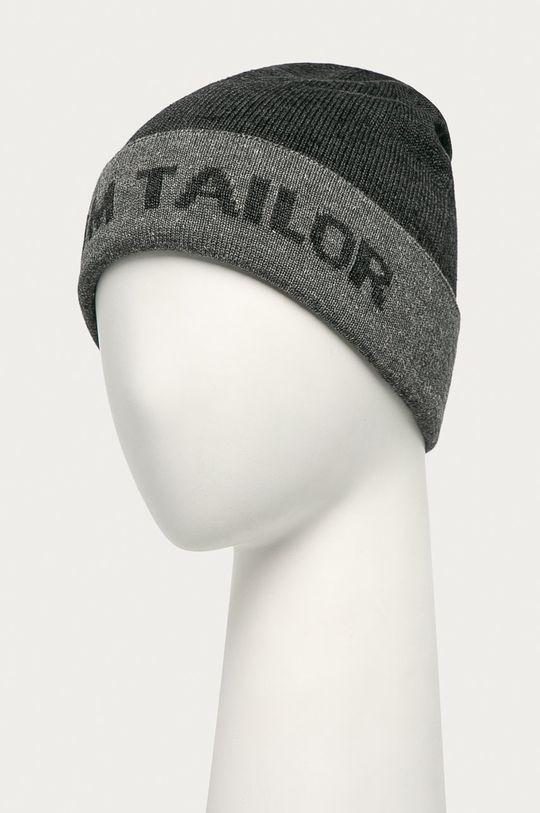 Tom Tailor Denim - Čiapka sivá