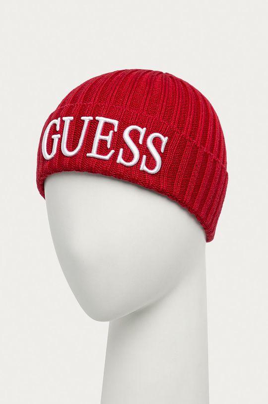 Guess Jeans - Čepice červená