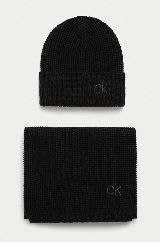 čierna Calvin Klein - Čiapka a šál Pánsky