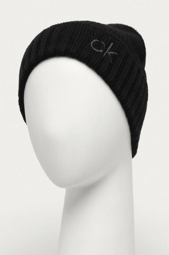 Calvin Klein - Čiapka a šál čierna