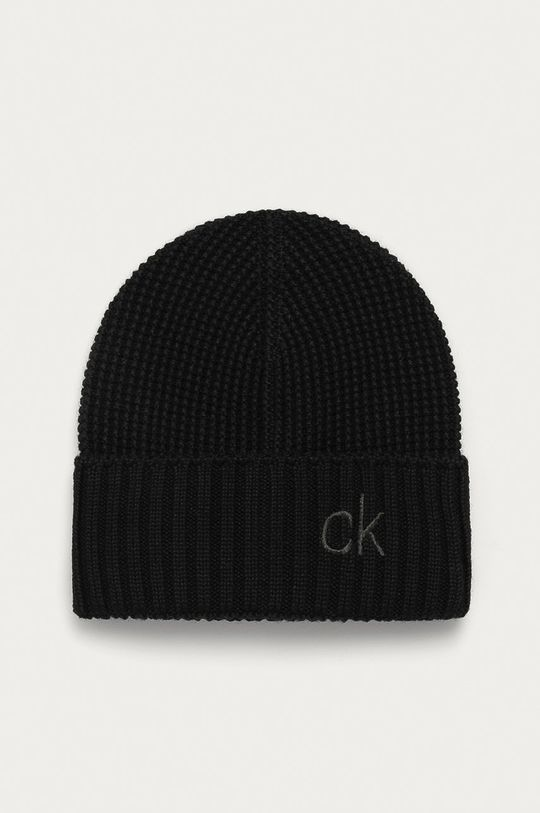 Calvin Klein - Čiapka a šál  52% Akryl, 48% Vlna