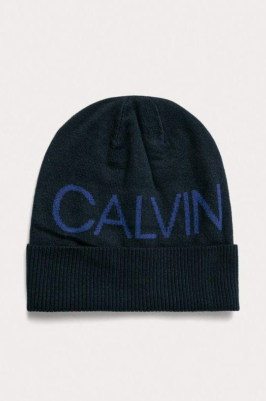 tmavomodrá Calvin Klein Jeans - Čiapka Pánsky
