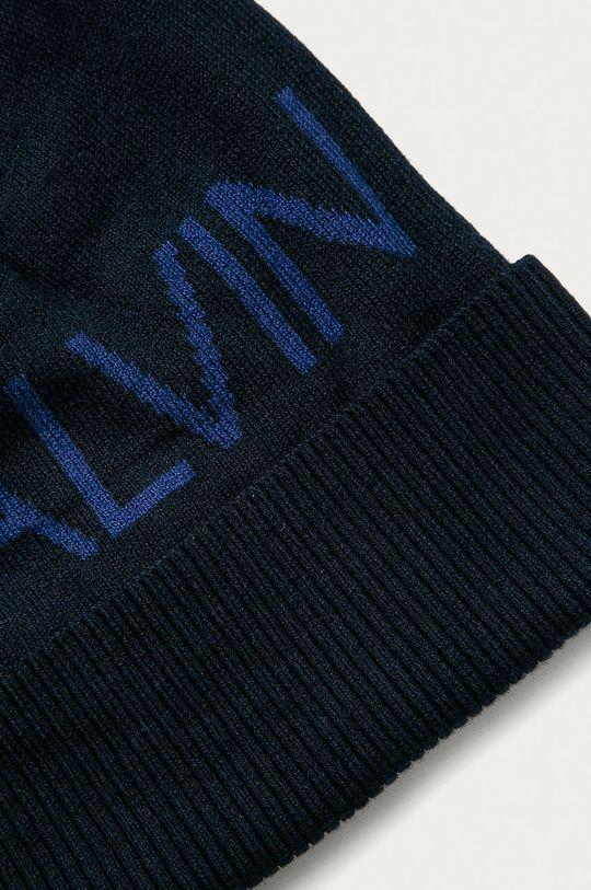Calvin Klein Jeans - Čiapka  60% Bavlna, 31% Nylón, 9% Vlna