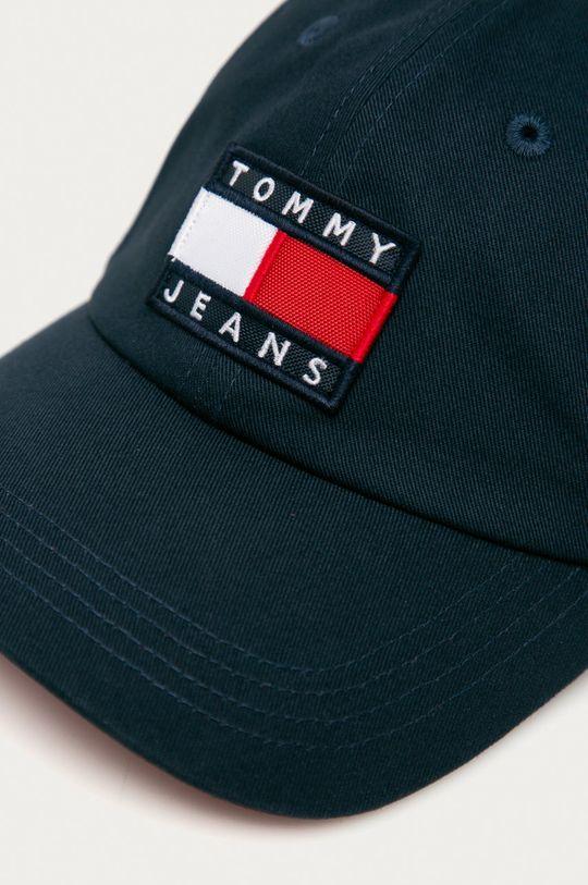 Tommy Jeans - Čepice námořnická modř