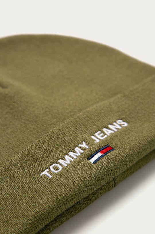Tommy Jeans - Čepice  50% Akryl, 50% Bavlna