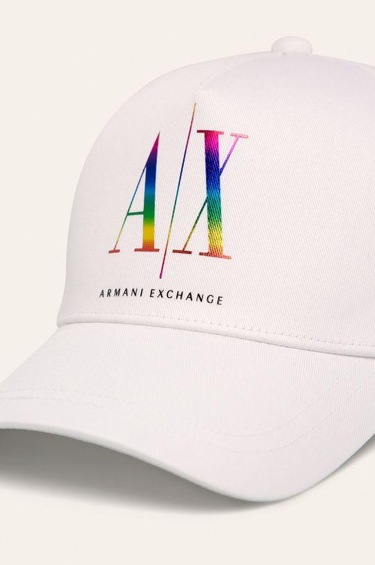 Armani Exchange - Caciula alb
