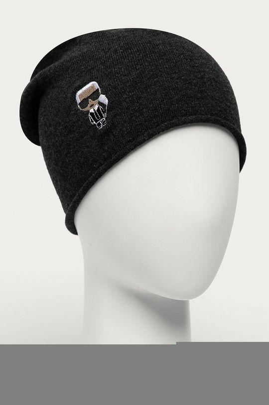 Karl Lagerfeld - Čepice šedá