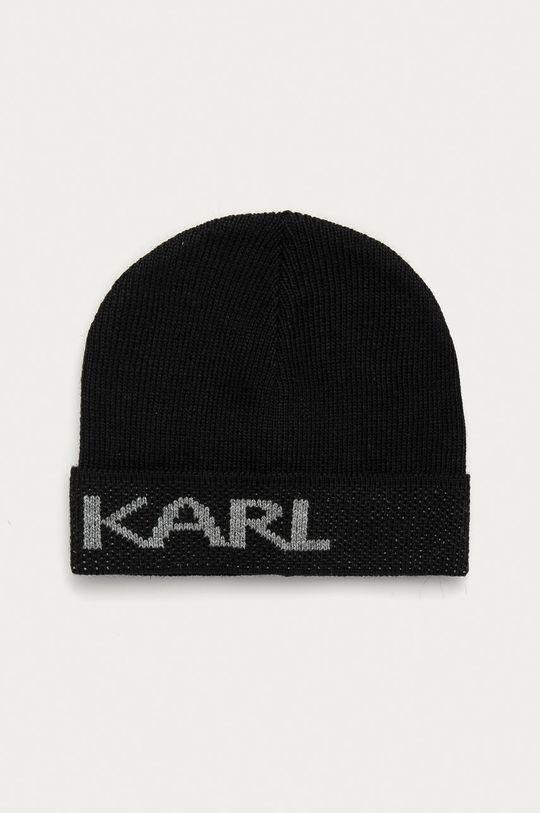 černá Karl Lagerfeld - Čepice Pánský