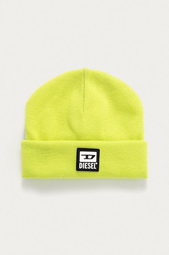 žlutě zelená Diesel - Čepice Unisex