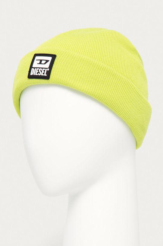 Diesel - Čepice žlutě zelená