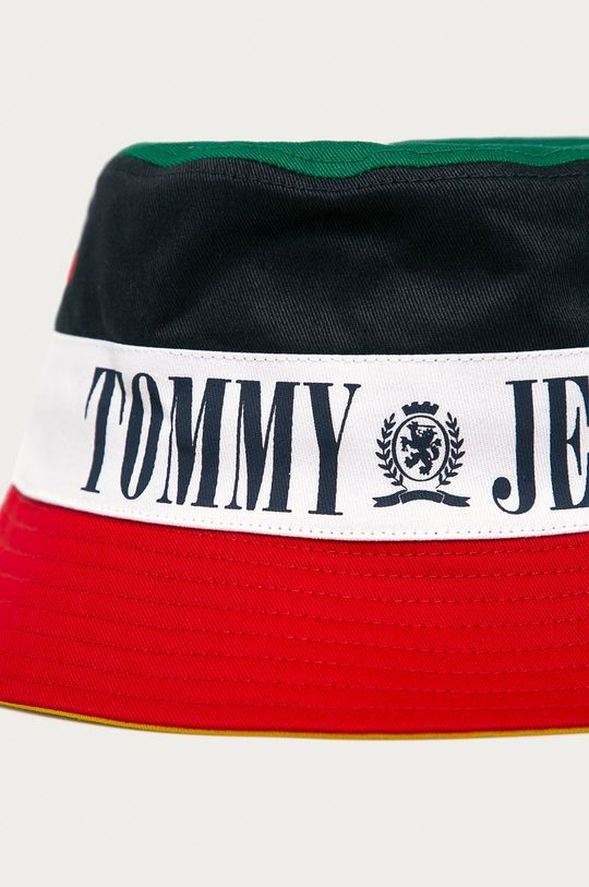 Tommy Jeans - Obojstranný klobúk tmavomodrá