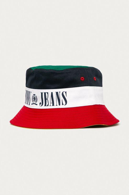 Tommy Jeans - Obojstranný klobúk  100% Bavlna