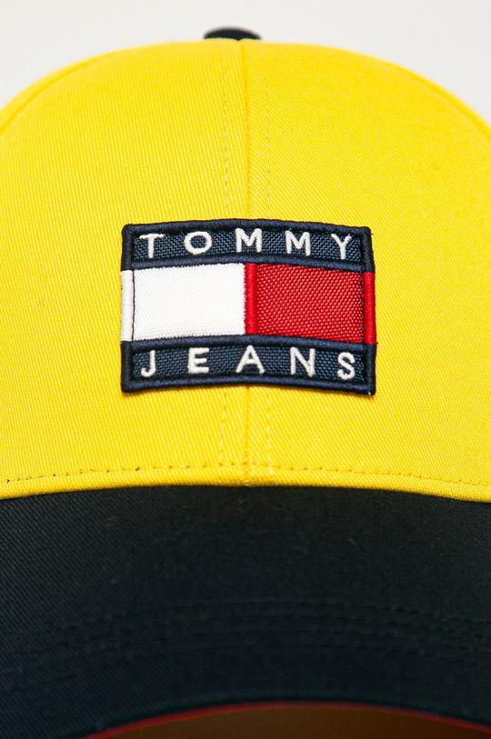 Tommy Jeans - Čiapka žltá