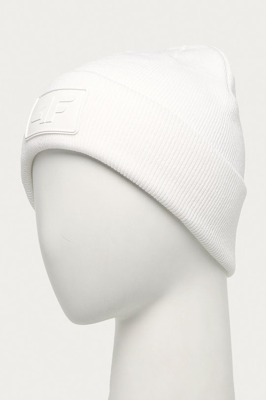 4F - Čepice bílá