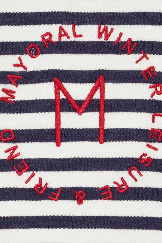 Mayoral - Detská tepláková súprava 68-98 cm (3-pak)  1. látka: 59% Bavlna, 1% Elastan, 40% Polyester 2. látka: 58% Bavlna, 4% Elastan, 38% Polyester