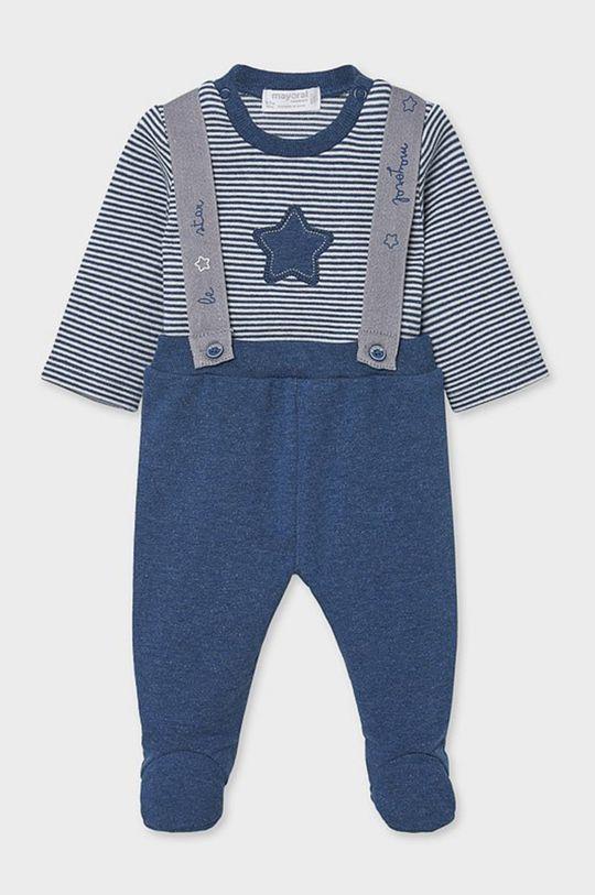 modrá Mayoral Newborn - Detská súprava 55-86 cm Chlapčenský