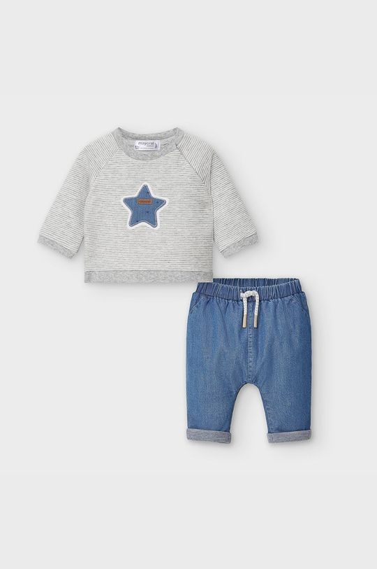 modrá Mayoral - Detská súprava 60-86 cm Chlapčenský