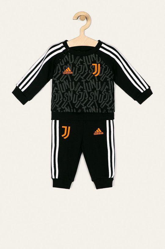 černá adidas Performance - Dětská tepláková souprava 62-104 cm Chlapecký