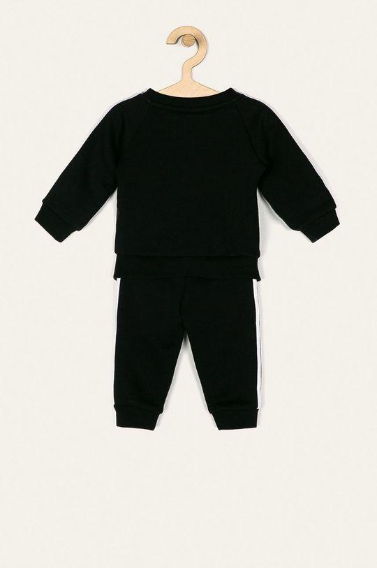 adidas Performance - Dětská tepláková souprava 62-104 cm černá