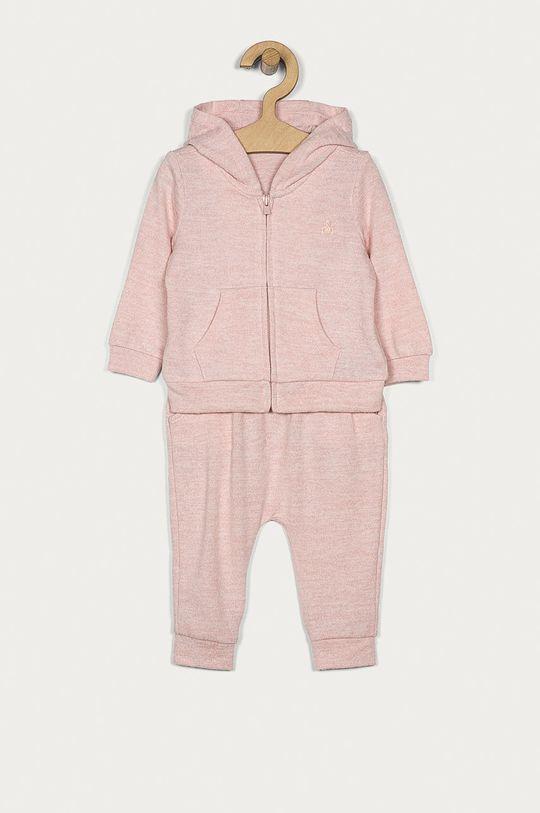 różowy GAP - Dres niemowlęcy 50-92 cm Dziewczęcy