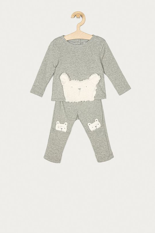 szary GAP - Dres niemowlęcy 50-86 cm Dziecięcy