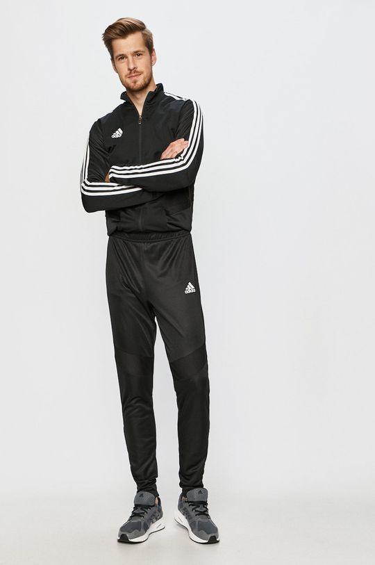 čierna adidas Performance - Komplet Pánsky