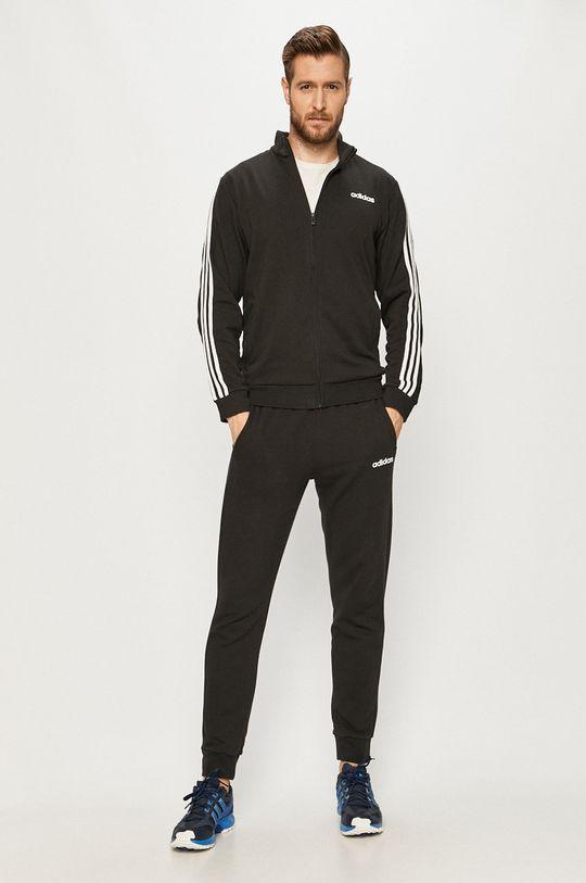 čierna adidas - Tepláková súprava Pánsky
