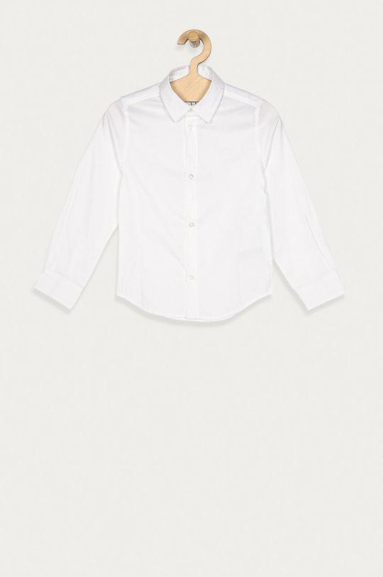 biela Boss - Detská košeľa 116-152 cm Chlapčenský