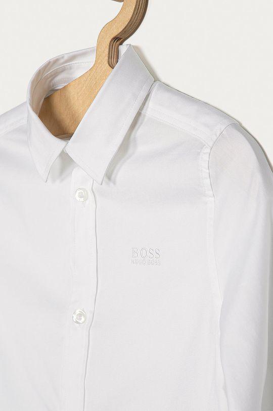 Boss - Detská košeľa 116-152 cm biela