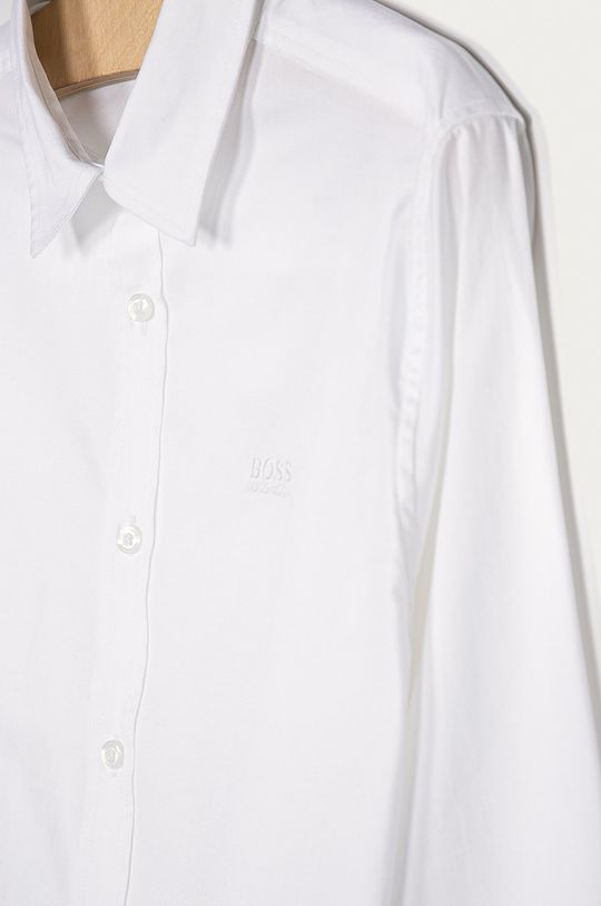 Boss - Camasa copii 164-176 cm alb