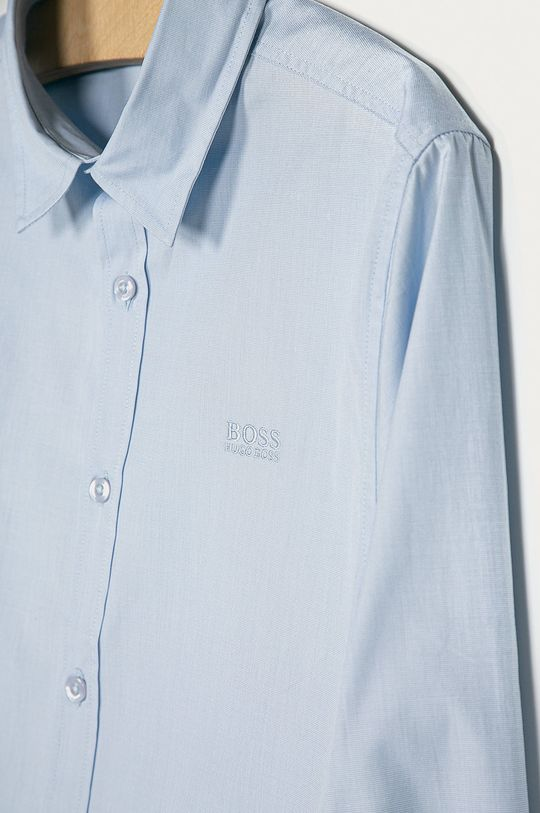 Boss - Koszula dziecięca 164-176 cm niebieski